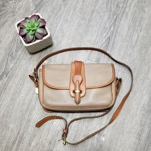 VINTAGE * Dooney & Bourke Leather Crossbody Bag